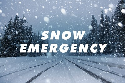Snow Emergency Parking Restriction Reminder